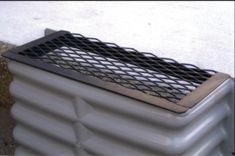 Vent Well Cover by Mitchell& Keep your house foundation Healthy . Diy Foundation, Industrial Bed, Diy Crafts For Boyfriend, Floating Bookshelves, Diy Exterior, Christmas Window Decorations, Vent Covers, Yard Design, Home Crafts