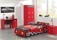 Chambre enfant Monza, pour les fanatiques du Formule 1