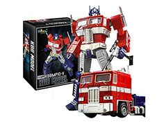 - Custom made KBB Optimus Prime in different class - Extra accessories and weapons - G1 color and design - Good reviews by Transformers fans worldwide - Mint in box ready to ship...