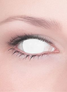white contacts | White Contact Lenses No Pupil Seer effect contact lenses