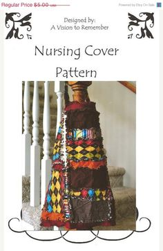Fun Nursing cover Pattern, plus its on sale!