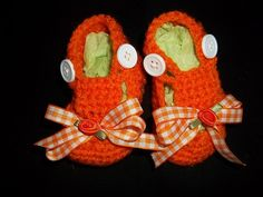 University Of Tennessee Baby Gril Booties    by Tambowsdesigns, $10.00