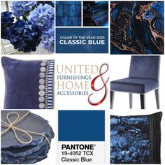 Discover a few of our Classic Blue favourites , enjoy Free 🇬🇧 delivery. Luxury Home Decor, Luxury Homes, Pantone 2020, Glass Wall Art, Unique Lamps, Coral Blue, Blue Tones, Handmade Furniture, Timeless Classic