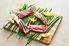 Pyszny łosoś z grilla - przepis | Roasted salmon - delicious http://www.codogara.pl/10126/losos-z-grilla/