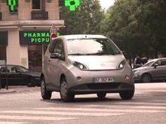 Bluecar Autolib' à Paris