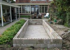 spiegelvijver Kraggenburg Flevoland 1 in 2020 Small Backyard Design, Small Backyard Pools, Backyard Pool Designs, Small Pools, Ponds Backyard, Backyard Ideas, Natural Swimming Ponds, Diy Pool, Swimming Pools Backyard