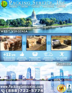 From East to West coast, our highly experienced staff will arrive on-site to professionally #Palletize your valuables for a Flat Rate! Allow our trusted team to safely #Shrink #Wrap and #Ship your items anywhere nationwide for a Guaranteed Flat Rate! With our company, you can rest assured that there are NO extra charges or Hidden fees, only clean Flat Rate Quotes! Visit www.PackingServiceInc.com or Call (888) 722-5774 Today!