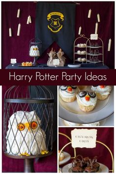 Unique Harry Potter Birthday Party Ideas www.spaceshipsandlaserbeams.com