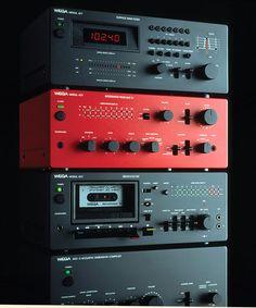 "design-is-fine: "" Hartmut Esslinger, Wega Modul 42C, 1978-80. Wega Radio GmbH, Germany. Via frogdesign """