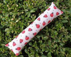 Summer Cat Kicker Toy Ladybug Catnip Red Organic Handmade Gift