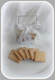 New Mexico Style Wedding Favors.  The state cookie, Biscochitos.