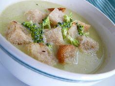 Brokolicovo-karfiolová krémová polievka