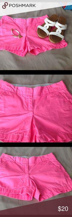 Pretty pink J Crew Chino shorts.  Size 4. Super cute shorts❤️ J. Crew Shorts