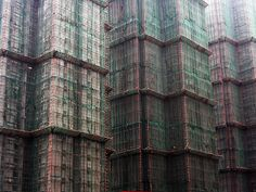 16 impressive examples of bamboo scaffolding