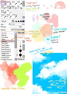 Brush settings as asked for by a friend! This... - puahaha