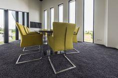 Vergaderruimte - vergaderstoel - vergadertafel - IVS - yellow/green - design - interior