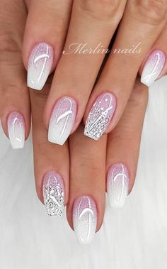 hottest awesome summer nail design ideas for 2019 - se .- hottest awesome summer nail design ideas for 2019 – page 33 of 39 – ideas # for # hottest - Cute Summer Nail Designs, Cute Summer Nails, Elegant Nail Designs, Ombre Nail Designs, Elegant Nails, Stylish Nails, Nail Art Designs, Summer Design, Wedding Nails Design