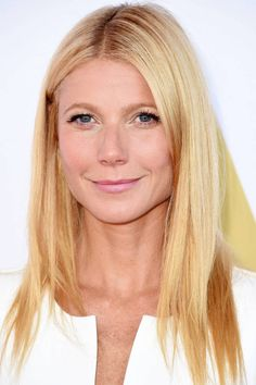 Try the straight and sleek look like Gwyneth Paltrow this winter: