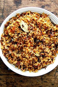 Moroccan Rice with Harissa, Dates, and Orange Two Ways: Instant Pot & Stovetop -. Moroccan Rice with Harissa, Dates, and Orange Two Ways: Instant Pot & Stovetop - Alexandra& Kitchen Moroccan Rice, Morrocan Food, Moroccan Dishes, Moroccan Chicken, Moroccan Food Recipes, Moroccan Couscous, Persian Recipes, Rice Recipes, Indian Food Recipes