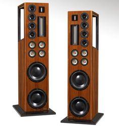 High End Audio Equipment For Sale Pro Audio Speakers, High End Speakers, Big Speakers, Audiophile Speakers, Tower Speakers, High End Audio, Hifi Audio, Audio Design, Speaker Design