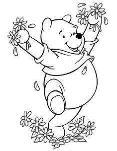 1000 images about digistamp winnie l 39 ourson on for Winnie the pooh thanksgiving coloring pages