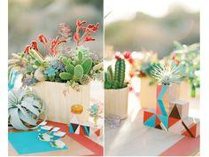 Cactus para los centros de mesa de la boda   El blog de María José
