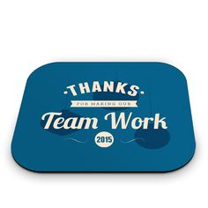 Thanks Mouse Pad - Business Gifts - Contemporary Motivation