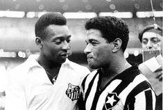Futebol Pelé e Garrincha - roni.jpg (573×385)