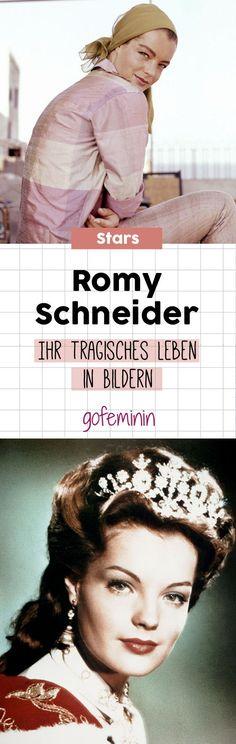 Romy Schneider: Ihr tragisches Leben in Bildern #romyschneider #sissi
