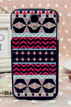 Ethnic Pattern Back Case for Samsung Galaxy S4