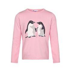 Buy John Lewis Girl Monty & Mabel Jersey Top, Pink Online at johnlewis.com