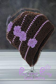 Little Ladies' Slouchy Hat. Isn't that cute!