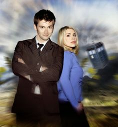 PHOTOS: David Tennant & Billie Piper Doctor Who Promo Shoot #ThrowbackThursday | DAVID TENNANT NEWS FROM WWW.DAVID-TENNANT.COM