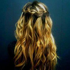 waterfall braid, LOVE