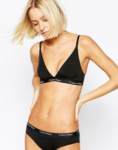 Image 1 ofCalvin Klein CK One Scatte Micro Triangle Bra