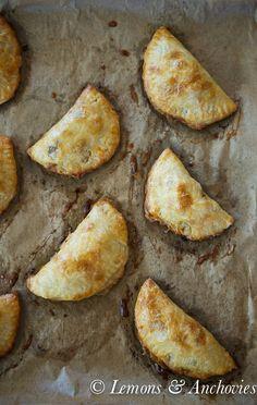 Chicken & Mushroom Empanadas {Baked} from @Jean Pope | Lemons & Anchovies