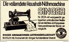 Original-Werbung/ Anzeige 1936 - SINGER NÄHMASCHINE - Ca. 65 X 45 Mm - Werbung