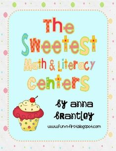 Your students will love this sweet 75 page center/work station packet! It includes 10 fun, hands-on centers(5 math