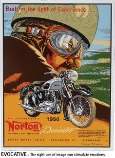 Norton Vintage Vitreous Enamel 2 , via Flickr.