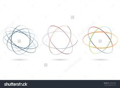 Abstract Colored Icons. Vector Set. Eps8 - 169426589 : Shutterstock