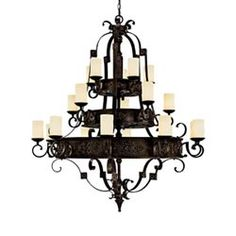 Black Old World Chandeliers Free Shipping