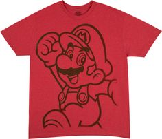 Red Mario Shirt