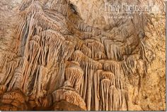 Carlsbad Caverns. I haven't been here. But the textures are amazing to see.