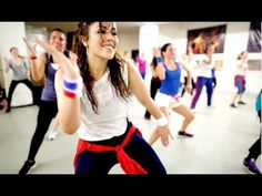 Zumba dance workout    dance workout for beginners step by step HD