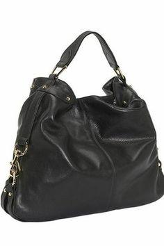 ShopStyle: Rebecca Minkoff Nikki Hobo Bag in Ebony Black