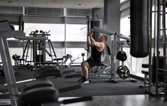 planet fitness triceps press machine how to use the