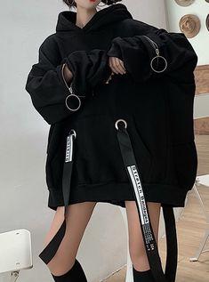 Egirl Fashion, Kpop Fashion Outfits, Ulzzang Fashion, Harajuku Fashion, Edgy Outfits, Korean Outfits, Tomboy Fashion, Grunge Outfits, Grunge Fashion