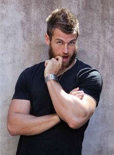 """The trope extends into rugby: David """"The Wolfman"""" Williams, Australian Rugby League player known for his flaunting of a magnificent carpet of facefur. Oh, and ladies, he appears to be a rather beautiful specimen in certain underwear catalogues and nude rugby calendars."""