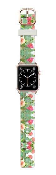 Casetify Apple Watch Band (38mm) Bracelet Casetify - scratched cactus by akaclem #Casetify
