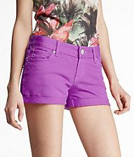 LOVING these bright colored shorts!